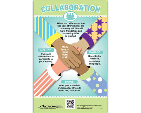 Collaboration Poster for Action Agendas