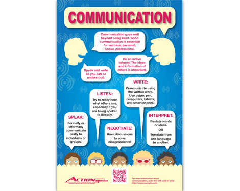 Communication Poster (elementary-school version) for Action Agendas