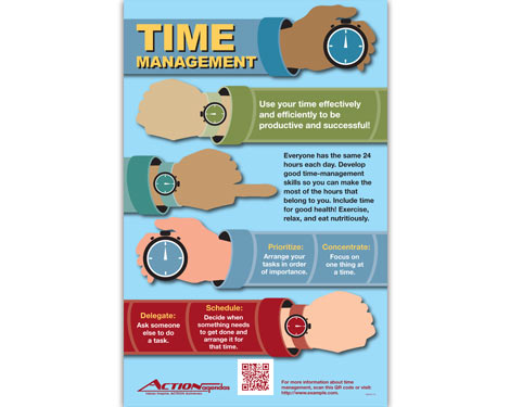 Time Management Poster for Action Agendas