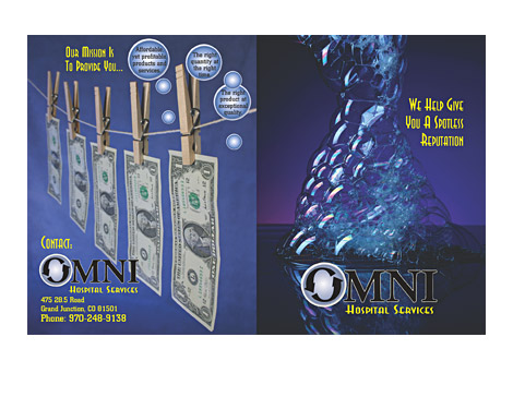 Omni Hospital Services Brochure Covers