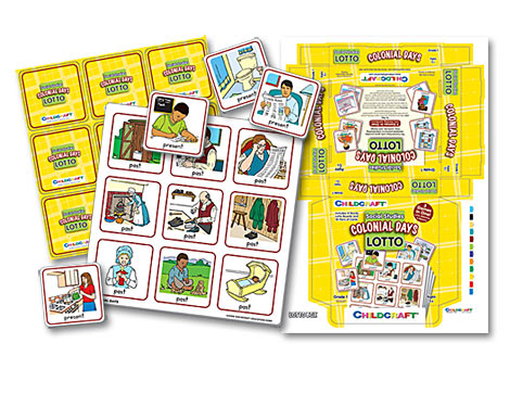 Childcraft Lotto Game