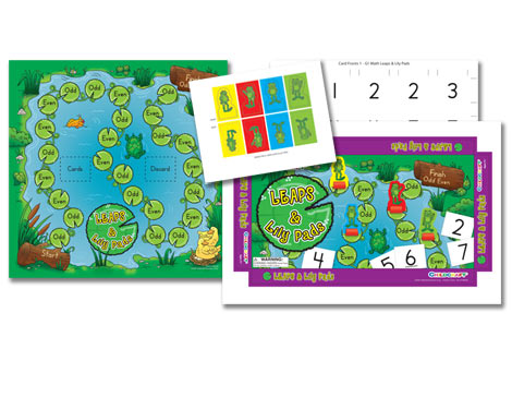 Childcraft Leaps & Lily Pads Game