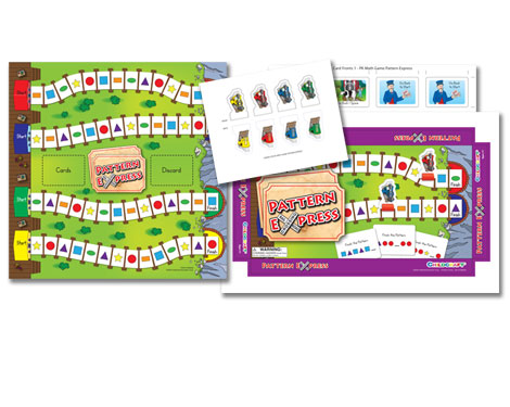 Childcraft Pattern Express Game