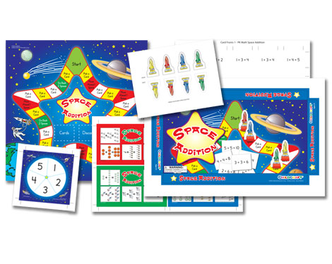 Childcraft Space Addition Game